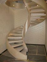 Сходи та балкони монолітні бетонні. Лестницы бетонные