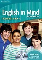Комплект English in maind second edition Student s book 4 + Workbook 4