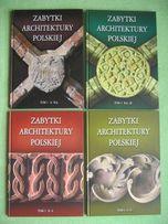 Zabytki architektury polskiej komplet 4 tomy