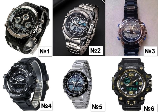 Мужские спортивные часы HONHX (G-Shock) ВОДОСТОЙКИЕ противоударные Кривой Рог - изображение 8