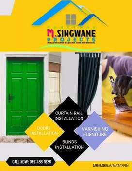 For your door installation