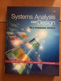 Image of Systems Analysis and design in a changing world 7th Ed. (ICT2622)