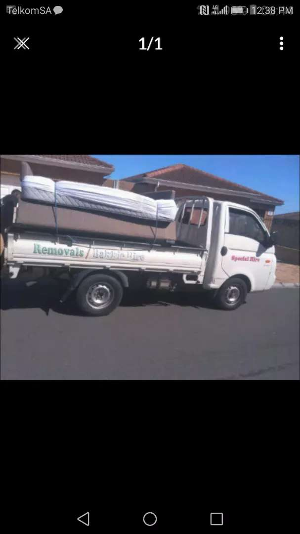 QUICKLY BAKKIE FOR HIRE