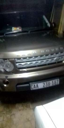Land Rover discovery 4 2012 model