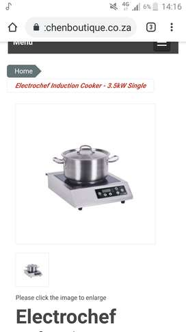 Electrochef induction cooker 3.5KW single