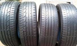 4 X 215/55/18 continental SUV tyres