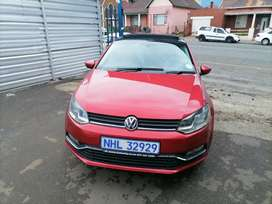 2014 Volkswagen polo 6 1.2 TSI with a Sunroof and leather seat