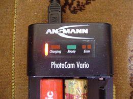 Зарядка для акумуляторних батарейок PhotoCam Vario AN0912 Німеччина