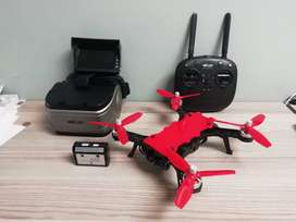 Brushless Bugs 8 Pro RC Racing drone with long range FPV goggles