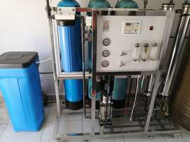 Water purification plant and Ice machines