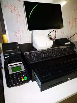Hisense HK-718 Integrated POS system + drawer, printer, keyboard