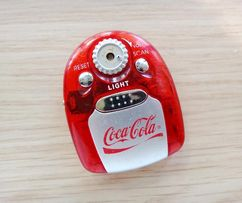 Цифровое радио FM Coca Cola с фонариком