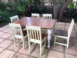 6Seater Dining Room Table