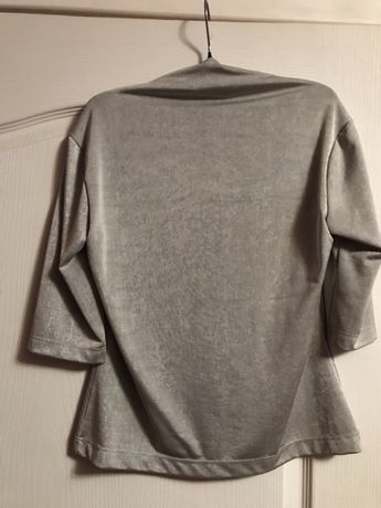 Блуза стального цвета Киев - изображение 3