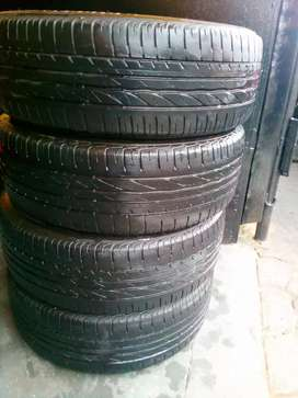 Tyres for sell good used