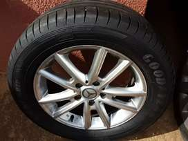Tyres  with Mag Rims