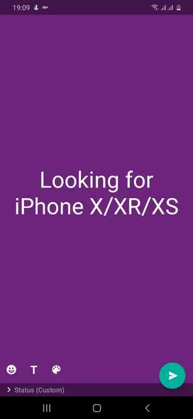 LOOKING for iPhone X/XR/XS