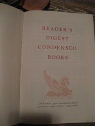 reader's digest condensed books книга на английском языке