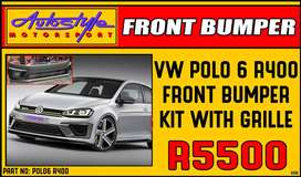 VW Polo 6 R400 Front bumper Kit R5500 Volkswagen Polo 6 Other styling