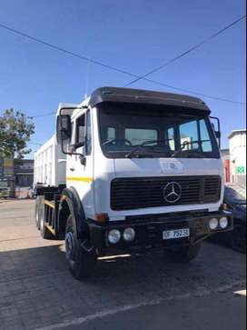Tipper trucks available