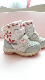 Зимові термочобітки, чоботи, стелька 15 см