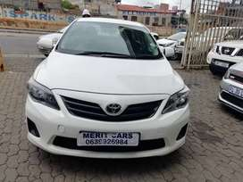 TOYOTA COROLLARY QUEST 1.6  WITH SPAR KEY AND REVERSE CAMERAS