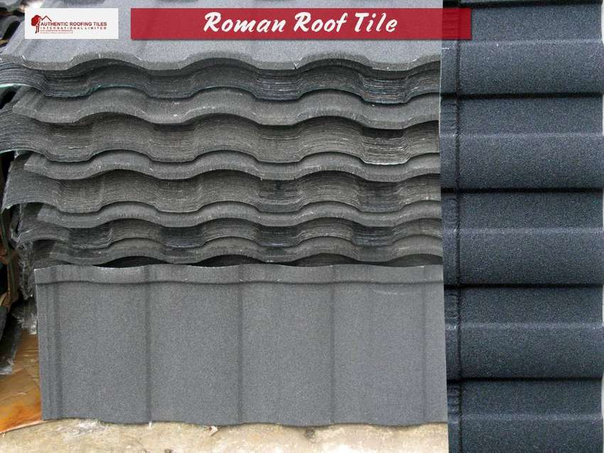 Stone Coated Roman Roofing Tiles 0