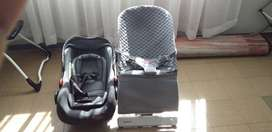 Chelino car seat and swinging chair