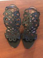 Летняя элегантная обувь на каблуке. Новая. Италия.