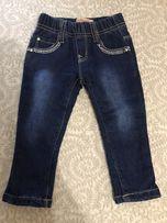 Штаны - джинсы тёплые на девочку