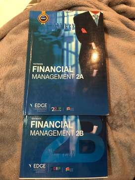 Financial management 2A and 2B edge textbook