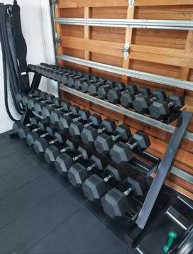Dumbbell stand extra heavy duty. 2000x960x750