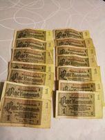 Banknot niemiecki 1 marka z 1937r