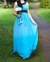 Шифоновое платье в пол