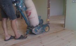 Циклевка, шлифовка паркета и доски пола, ремонт, реставрация, укладка