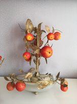 Продам люстру и Бра на кухню ( яблочки)