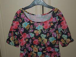 Детское платье, цветочного принта