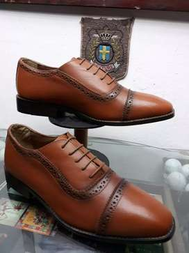 Size 8 brand new genuine leather brogues