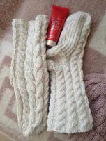 Носки вязанные от 150руб.