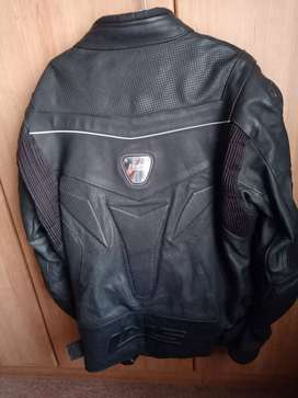 LMS Leather bike Jacket R800 neg