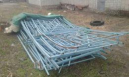 металлическое ограждение, забор, ограда, 15 секций диаметр 50метров