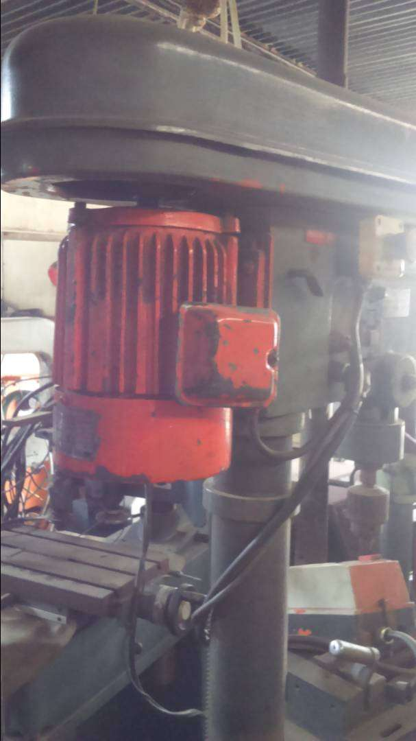 Horizontal Drill Press with Vice 0