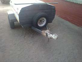 Venter trailer Used