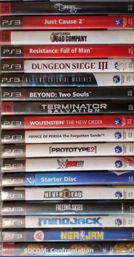 Games galore PS3 games