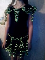 Платье - Бейсик, комплект: блуза и юбка для танцев.