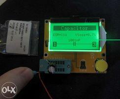 LCR T4 ESR mega328 тест радиодеталей используя тестер транзисторов