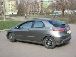 Honda Civik 5D обмен на авто с польской регистрацией