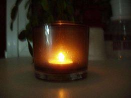 Подсвечник (підсвічник), светильник стеклянный в скандинавском стиле.
