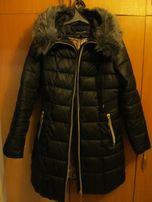 Пальто пуховик женский длинный. Размер L