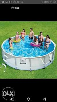 Imported intex family pool 0